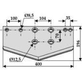Couteau-bêche Strautmann adaptable 196 x 400 x 4 mm (05.02.34)-1128517_copy-20