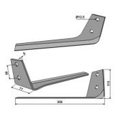 Lame décolleteuse Gilles modèle droite longueur 355 mm (20460)-1750294_copy-20