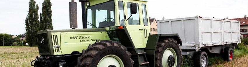 Tracteur Mb-trac