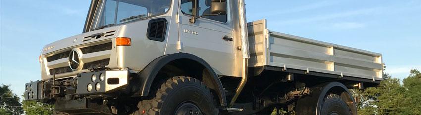 Tracteur Unimog