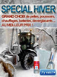 Matériel agricole hiver