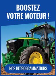 Reprogrammation moteur agricole