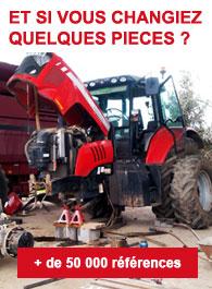 Pièces tracteur